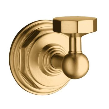 Kohler K-13113-BV Pinstripe Robe Hook - Brushed Bronze