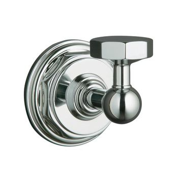 Kohler K-13113-CP Pinstripe Robe Hook - Chrome