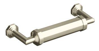 Kohler K-13125-BN Pinstripe Cabinet Pull - Brushed Nickel