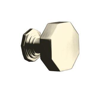 Kohler K-13126-BN Pinstripe Cabinet Knob - Brushed Nickel