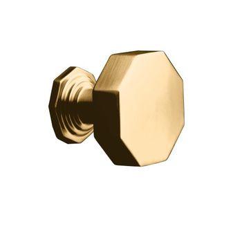 Kohler K-13126-BV Pinstripe Cabinet Knob - Brushed Bronze