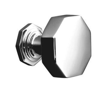 Kohler K-13126-CP Pinstripe Cabinet Knob - Chrome