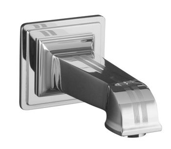 Kohler K-13139-B-CP Pinstripe Wall Mount Bath Spout - Chrome