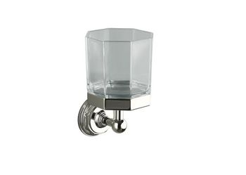 Kohler K-13146-BN Pinstripe Tumbler - Brushed Nickel (Pictured in Polished Nickel)
