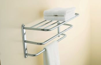 Kohler K-16155-CP Revival Towel Shelf - Polished Chrome