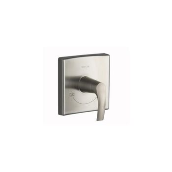 Kohler K-T18090-4-BN Symbol Thermostatic Valve Trim Only - Brushed Nickel