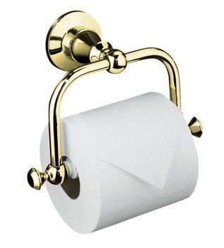 Kohler K-211-PB Antique Toilet Tissue Holder - Polished Brass