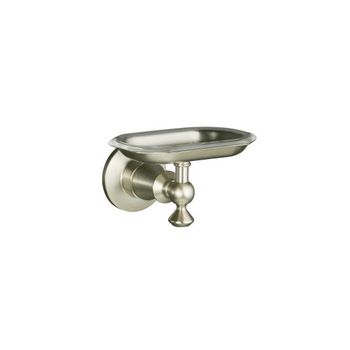 Kohler K-213-BV Antique Soap Dish - Brushed Bronze (Pictured in Brushed Nickel)