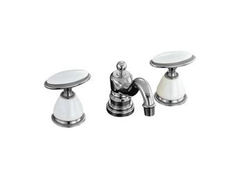 Kohler K-280-9B-CP Antique Widespread Lavatory Faucet - Polished Chrome