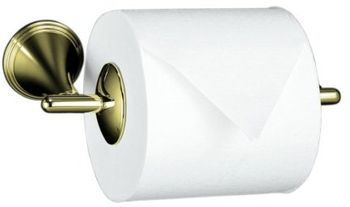 Kohler K-361-AF Finial Traditional Toilet Tissue Holder - French Gold