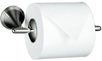 Kohler K-361-SN Finial Traditional Toilet Tissue Holder - Polished Nickel
