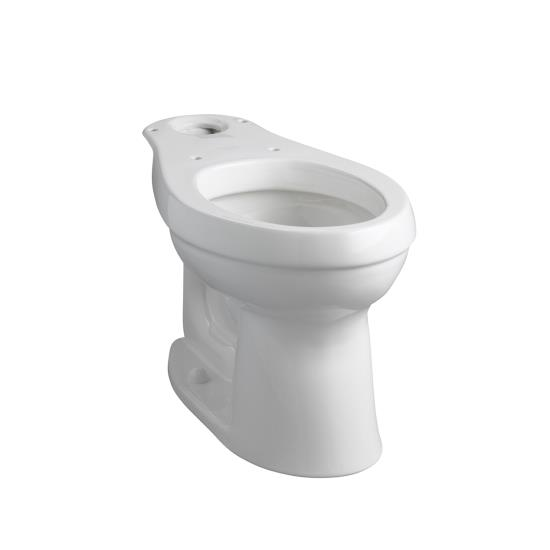 Kohler K-4309-96 Cimarron Comfort Height Elongated Toilet Bowl - Biscuit (Pictured in White)
