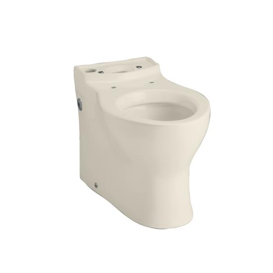 Kohler K-4322-47 Persuade Elongated Toilet Bowl - Almond