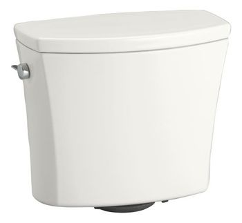 Kohler K-4469-0 Kelston Toilet Tank with 1.28 gpf - White