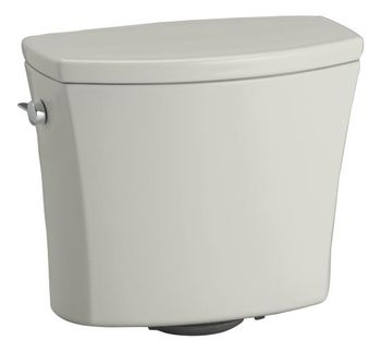 Kohler K-4469-95 Kelston Toilet Tank with 1.28 gpf - Ice Grey