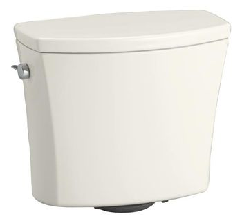 Kohler K-4469-96 Kelston Toilet Tank with 1.28 gpf - Biscuit
