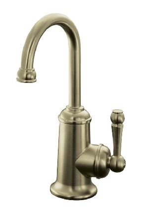 Kohler K-6666-BV Wellspring Traditional Beverage Faucet - Brushed Bronze