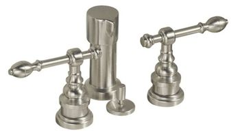 Kohler K-6814-4-BN IV Georges Brass Bidet Faucet with Lever Handles - Brushed Nickel