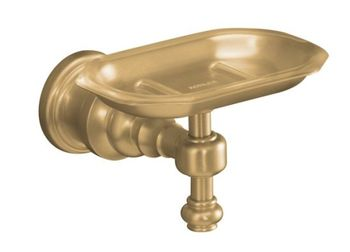Kohler K-6820-BV IV Georges Brass Soap Dish - Brushed Bronze