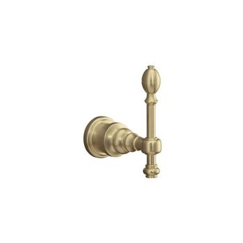 Kohler K-6821-BV IV Georges Brass Robe Hook - Brushed Bronze