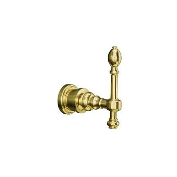 Kohler K-6821-PB IV Georges Brass Robe Hook - Polished Brass