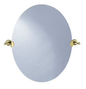 Kohler K-6824-PB IV Georges Brass Mirror - Polished Brass