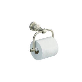 Kohler K-6828-BV IV Georges Brass Horizontal Toilet Tissue Holder - Brushed Bronze (Pictured in Brushed Nickel)