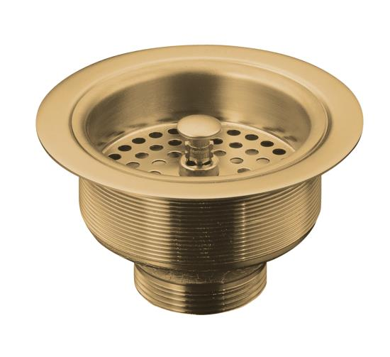 Kohler K 8799 BV Duostrainer Sink Strainer W/o Tailpiece   Brushed Bronze