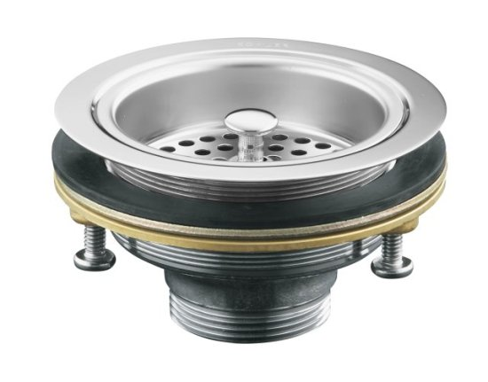Kohler K 8799 Cp Duostrainer Sink Strainer W O Tailpiece