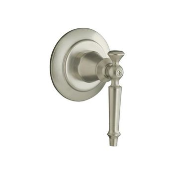 Kohler K-T10111-4-BN Antique Volume Control Valve Trim Only - Brushed Nickel