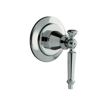 Kohler K-T10111-4-PB Antique Volume Control Valve Trim Only - Polished Brass (Pictured in Polished Chrome)