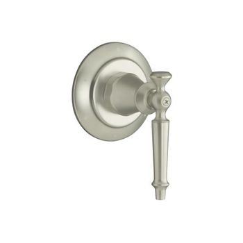 Kohler K-T10113-4-BN Antique Transfer Valve Trim Only - Brushed Nickel