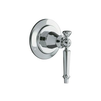 Kohler K-T10113-4-PB Antique Transfer Valve Trim Only - Polished Brass (Pictured in Polished Chrome)