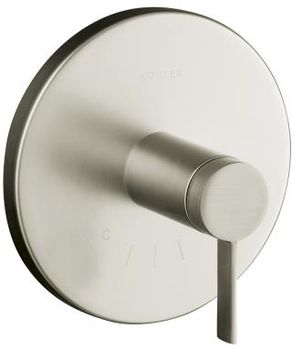 Kohler K-T10940-4-BN Stillness Thermostatic Valve Trim with Lever Handle - Brushed Nickel