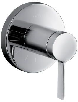 Kohler K-T10943-4-CP Stillness Volume Control Valve Trim with Lever Handle - Chrome