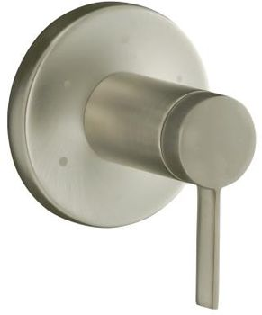 Kohler K-T10944-4-BN Stillness Transfer Valve Trim with Lever Handle - Brushed Nickel