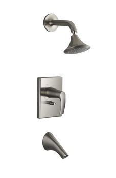 Kohler K-T18488-4-BN Symbol Rite-Temp Bath And Shower Faucet Trim - Brushed Nickel
