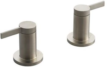 Kohler K-T955-4-BN Stillness Bath, Deck or Wall-Mount High-Glow Bath Valve Trim - Burshed Nickel (Handles Only)