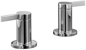 Kohler K-T955-4-CP Stillness Bath, Deck or Wall-Mount High-Glow Bath Valve Trim - Chrome (Handles Only)
