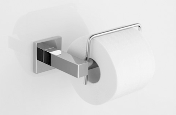 KWC 28.245.510.000 QBix/QBix-Art Toilet Paper Holder - Chrome