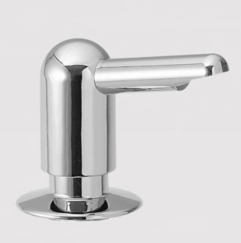 KWC Z.534.615.700 Rondo Soap/Lotion Dispenser - Stainless Steel (Pictured in Chrome)