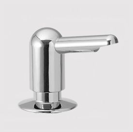 KWC Z.534.615.114 Rondo Soap/Lotion Dispenser - Almond (Pictured in Chrome)