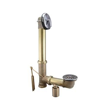 Keeney 610RB Brass Tub Drain Assembly