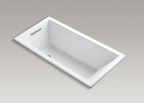 Kohler K-1167-VB Underscore Soaking Bathtub Drop In - White