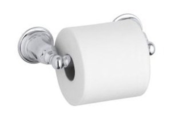 Kohler K-13504 Kelston Toilet Tissue Holder - Oil Rubbed Bronze (Pictured in Polished Chrome)