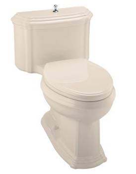 Kohler K-3506 One-Piece Elongated Comfort Height Eco Toilet - Innocent Blush