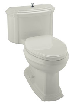 Kohler K-3506 One-Piece Elongated Comfort Height Eco Toilet - Ice Grey