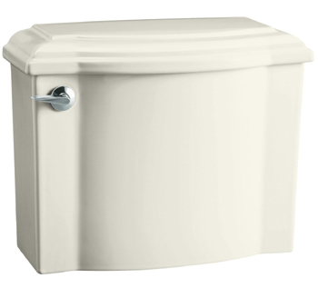 Kohler K-4446-96 Devonshire Class Five High Efficiency Toilet Tank - Biscuit