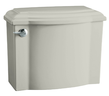 Kohler K-4446-95 Devonshire Class Five High Efficiency Toilet Tank - Ice Grey