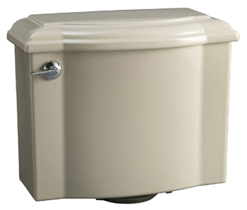 Kohler K-4446-G9 Devonshire Class Five High Efficiency Toilet Tank - Sandbar